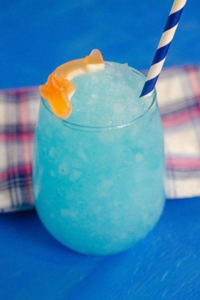 Blue Curacao Shark Drink