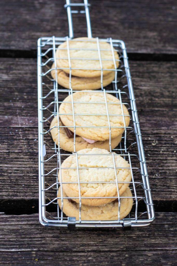 Campfire Sugar Cookies S'mores