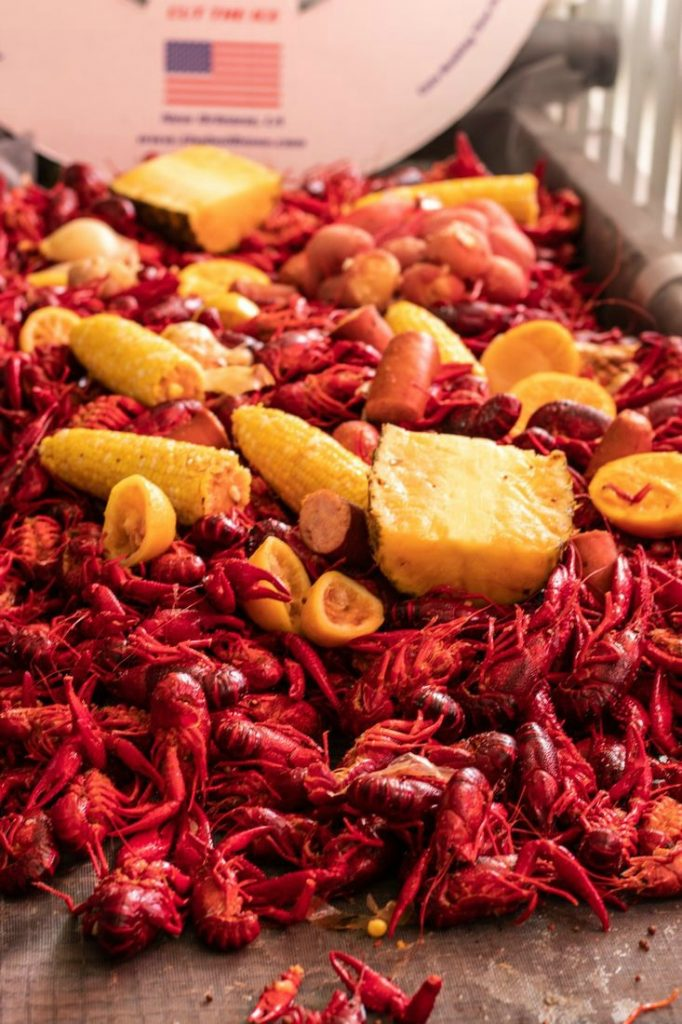 Easy Crawfish Boil