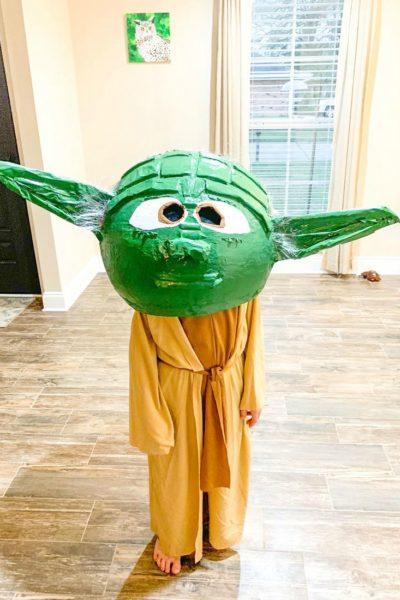 Yoda Paper Mache Head