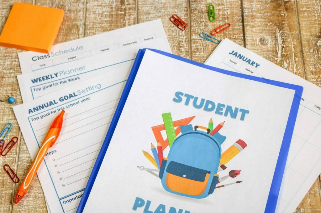 Printable Student Planner