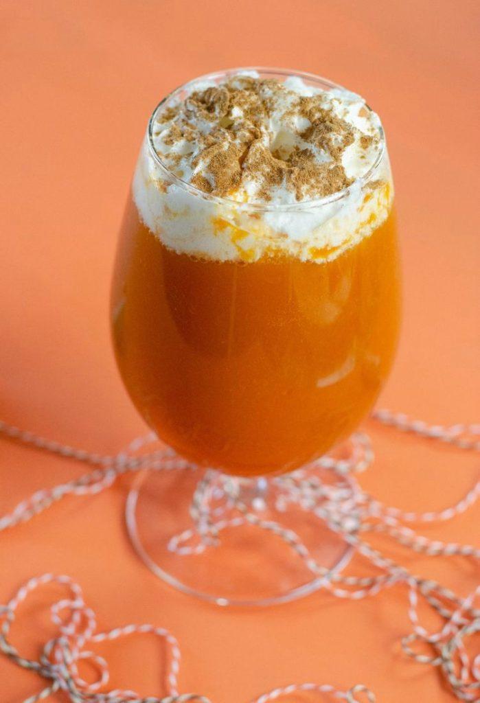 Pumpkin Pie Punch with Cider
