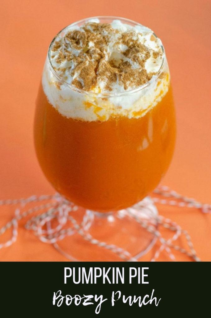 Pumpkin Pie Boozy Punch