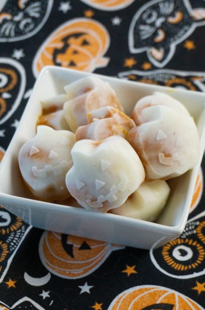 Pumpkin Yogurt Bites