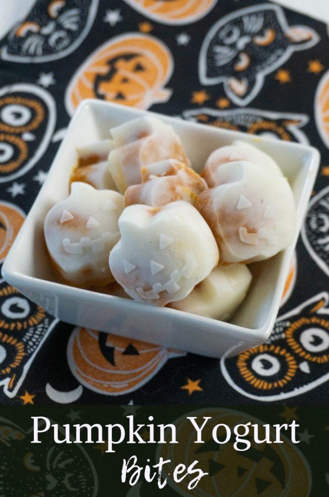 Pumpkin Yogurt Bites