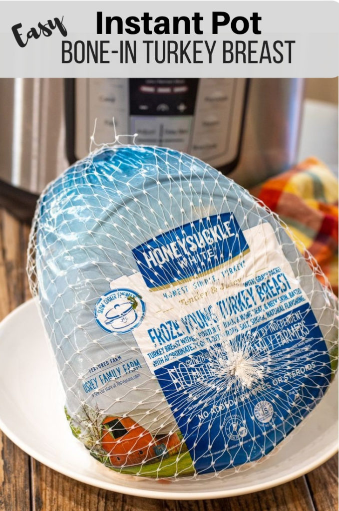 Instant Pot Bone-In Turkey Breast