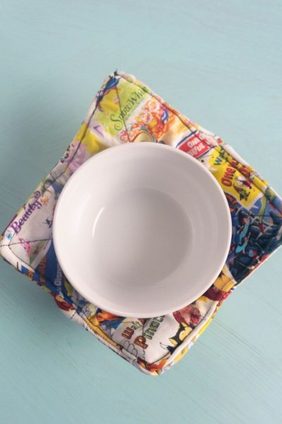 Disney Soup Bowl Cozy Tutorial