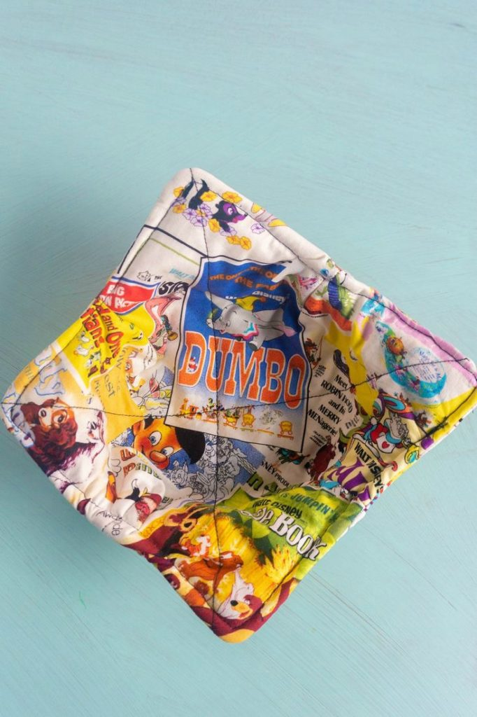 Disney Vintage Print Soup Bowl Cozy