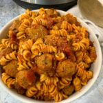 Instant Pot Pasta With Meatballs