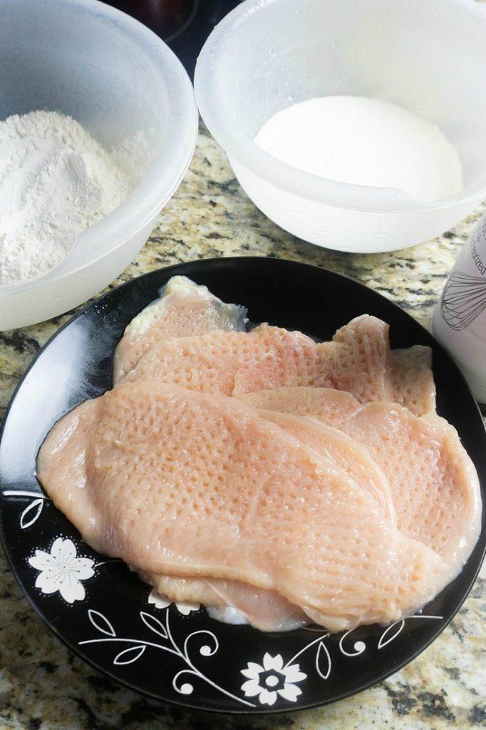Chicken Fried Chicken Ingredients