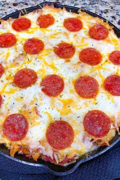 Pizza Pasta Skillet Casserole