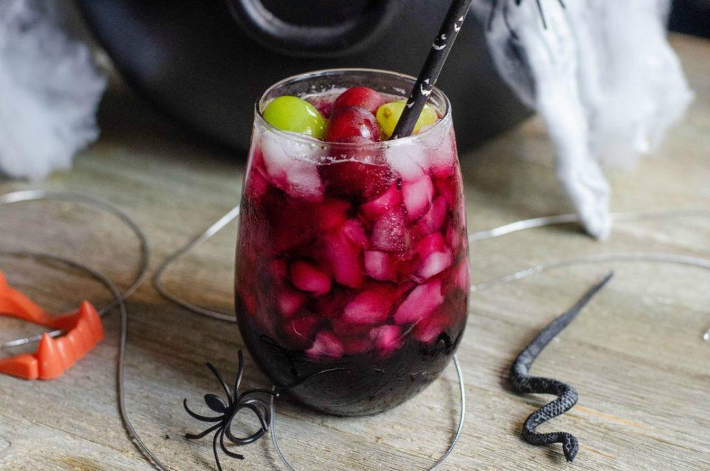 Black Magic (Gris-Gris) Halloween Cocktail