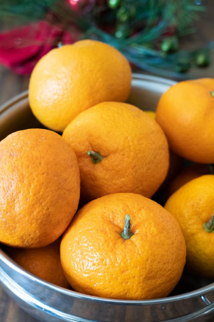 Bowl of Satsuma Oranges