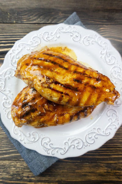 Cast Iron Skillet BBQ Chicken