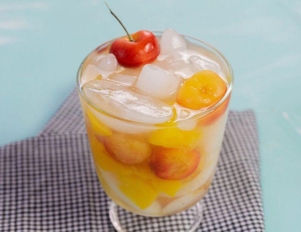 Peachy Rainier Cherry Moonshine