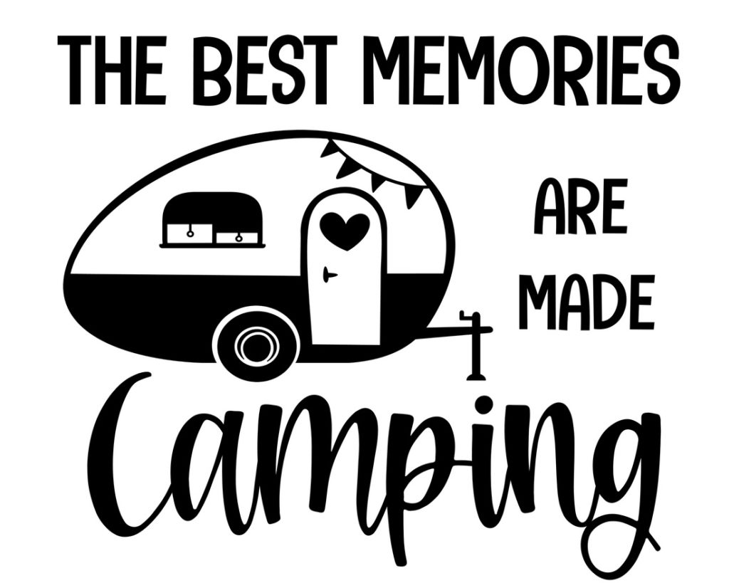 Camping Décor Sign (Camping Memories)