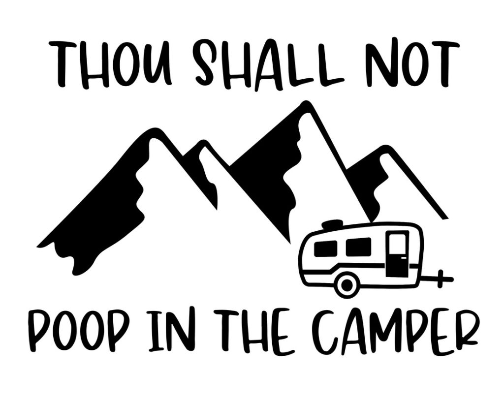 Free Printable Camping Décor Sign