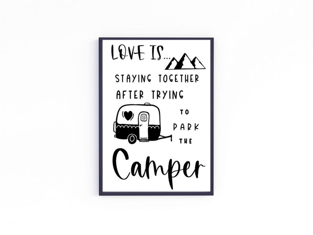 6 Free Printable Camping Decor Signs