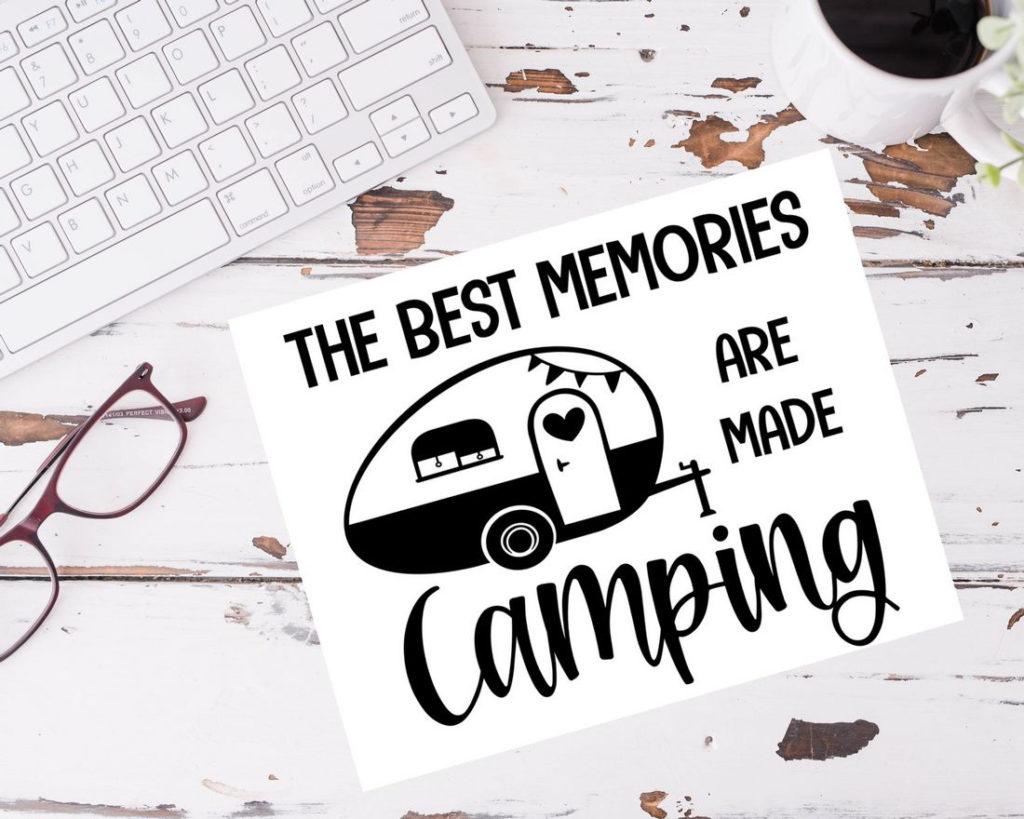 Printable Camping Décor Sign